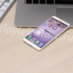 iPhone 6 concept op MacBook