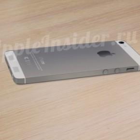 iPhone 6 concept zij aanzicht