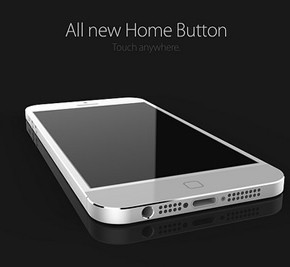 iPhone 6 concept vernieuwde home button