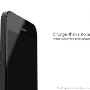 iPhone 6 stronger than a stone