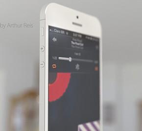 iPhone 6 Concept zij voor