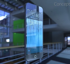 iPhone 6 Concept zwevend