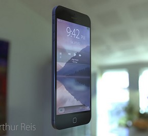 iPhone 6 Concept zwevend 2