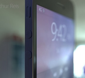 iPhone 6 Concept zwevend zookm