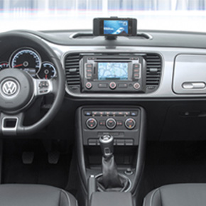 Apple en Volkwagen introduceren iBeetle