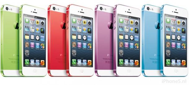 iPhone 5S kleurtjes