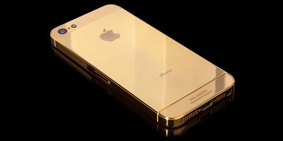 Gouden iPhone achterkant