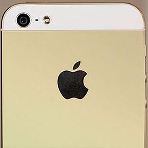 Apple komt met gouden iPhone 5S