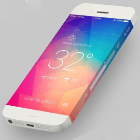 iPhone 5S en 6 concept met opvallend scherm [video]