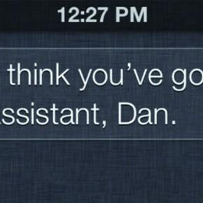 Glass? Ik denk dat je verkeerde assistent voor je hebt.