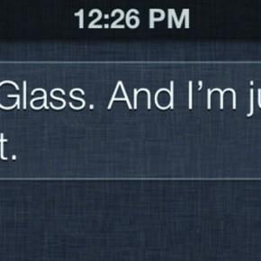 Ik ben Glass niet. En daar ben ik blij mee.