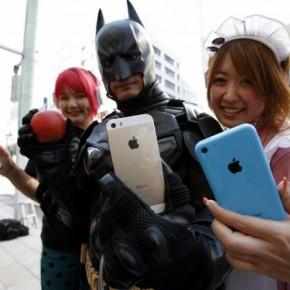 Batman is blij met de 5s in Tokyo