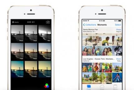 Camera app iOS7