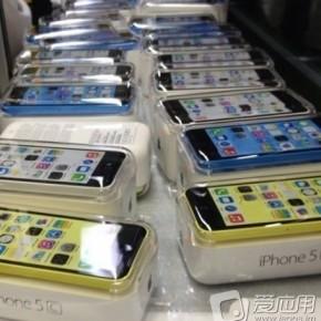 Verpakkingen iPhone 5C uitgelekt