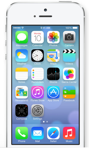 iOS7 screen