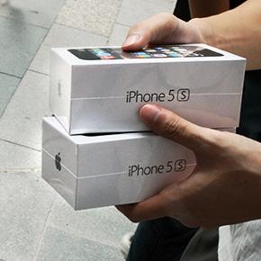 Verkoop iPhone 5s en iPhone 5c van start
