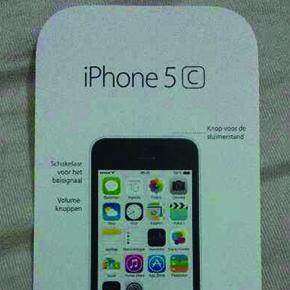 Nederlandse handleiding iPhone 5C opgedoken
