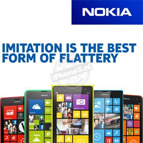 Nokia plaagt Apple op Facebook en Twitter