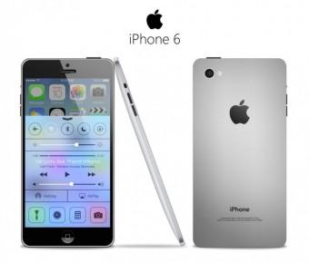 Concept van een iPhone 6 met groter scherm