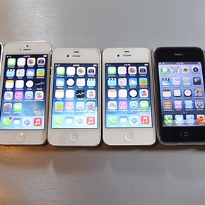 De ultieme iPhone Speed Test: alle iPhones naast elkaar [video]